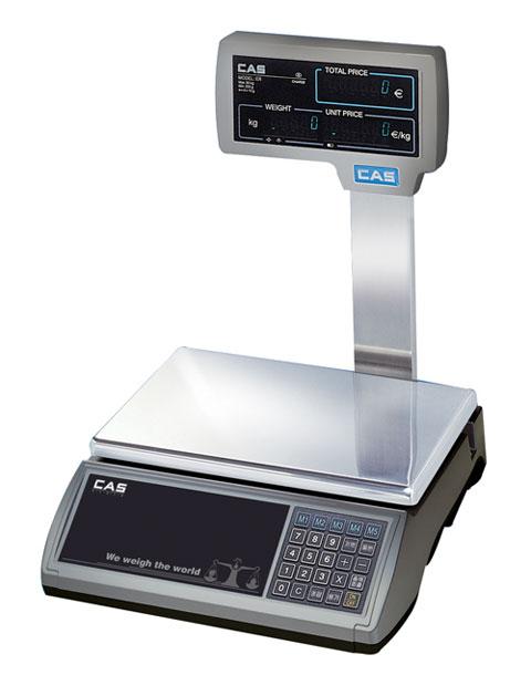 Ζυγός λιανικής πώλησης ER - VFD