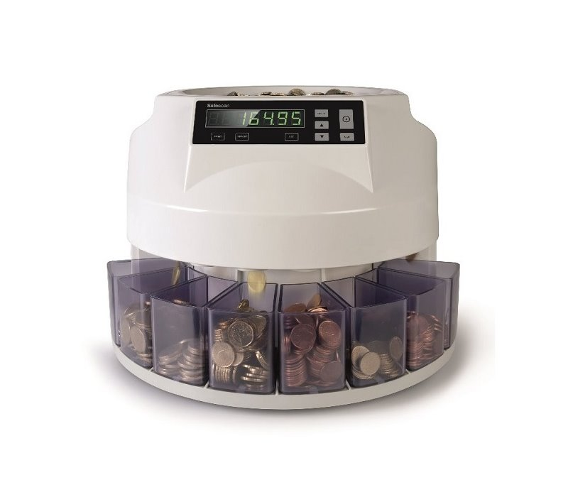 καταμετρητής διαχωριστής κερμάτων safescan 1250