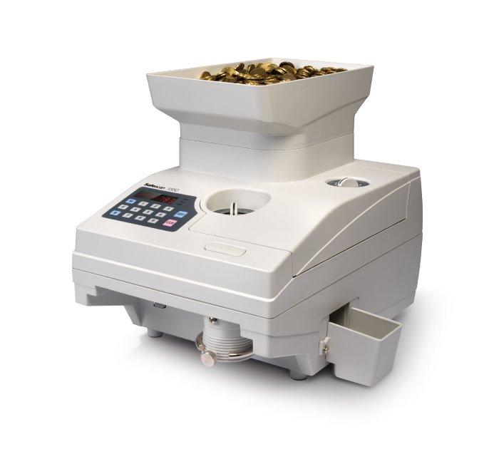 καταμετρητής διαχωριστής κερμάτων safescan 1550