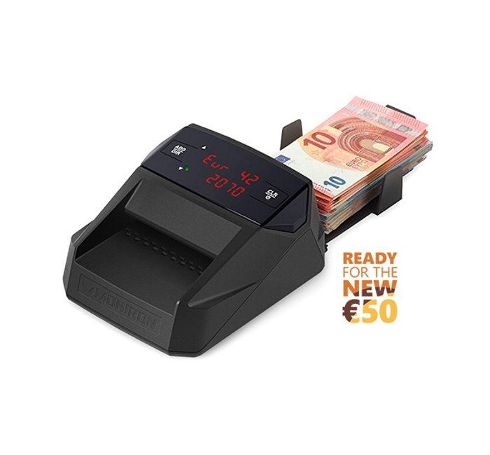 ανιχνευτής πλαστών χαρτονομισμάτων moniron dec ergo