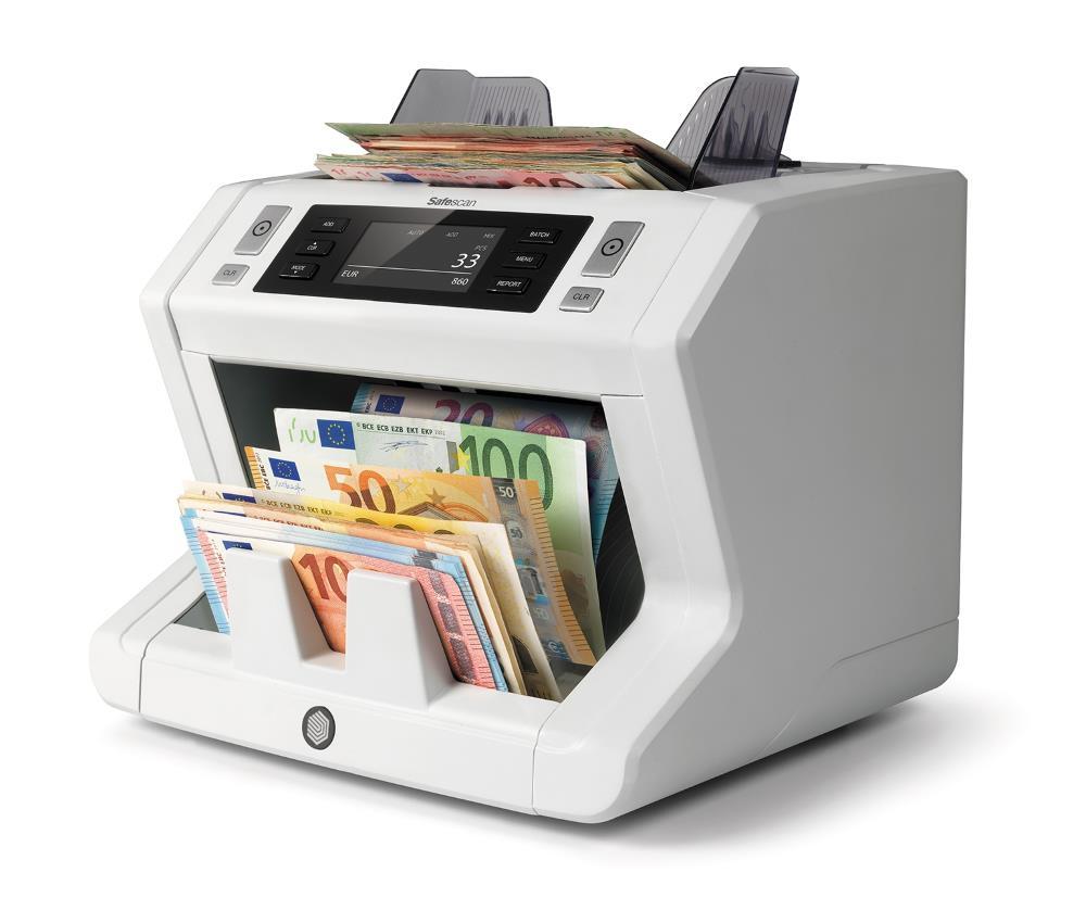 καταμετρητής χαρτονομισμάτων safescan 2665s