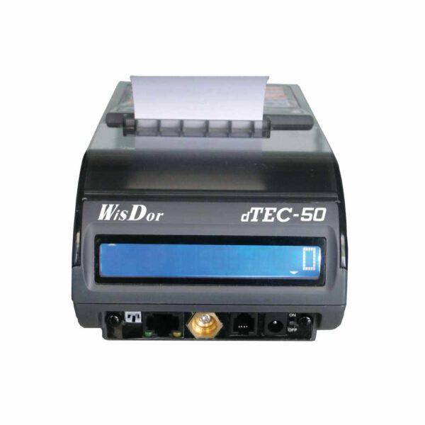 Ταμειακή μηχανή d tec 50 φορητή λαικής on line