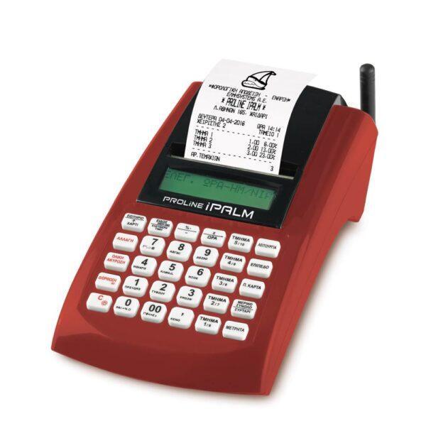 Ταμειακή μηχανή proline ipalm φορητή λαικής on line