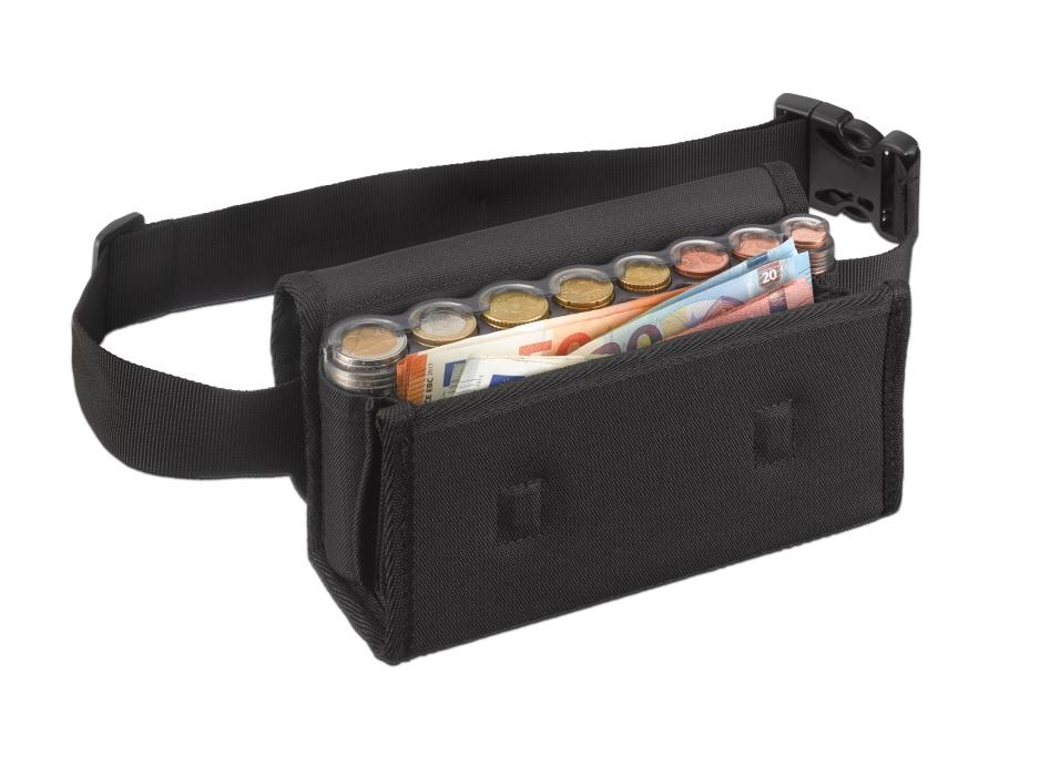 τσαντάκι μέσης με κερματοθήκη και θήκες για χαρτονομίσματα