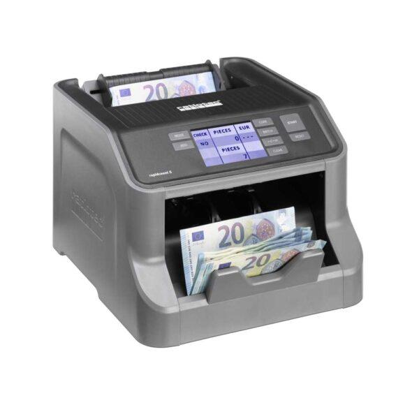 καταμετρητής χαρτονομισμάτων ratiotec rapidcount s200
