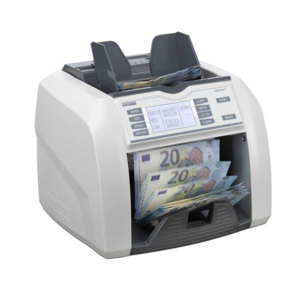 καταμετρητής χαρτονομισμάτων ratiotec rapidcount t200