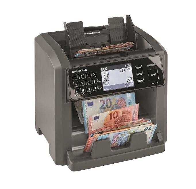 καταμετρητής χαρτονομισμάτων ratiotec rapidcount x400