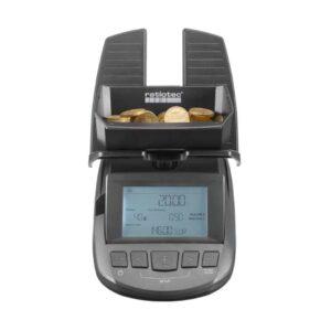 μετρητής-ζυγαριά κερμάτων και χαρτονομισμάτων ratiotec rs2000