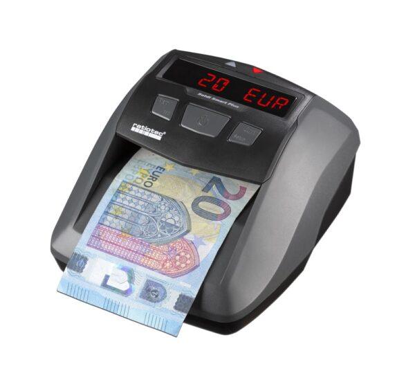 Ανιχνευτής πλαστών χαρτονομισμάτων ratiotec soldi smart plus
