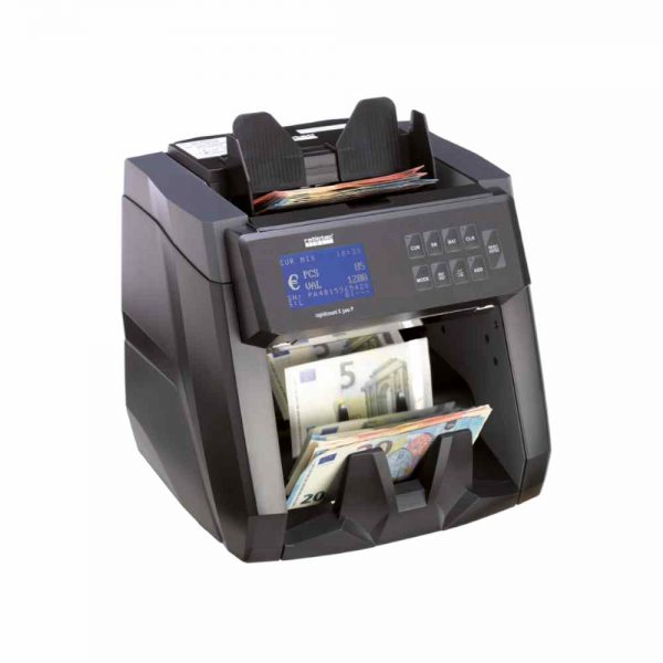 καταμετρητής χαρτονομισμάτων ratiotec rapidcount x300p
