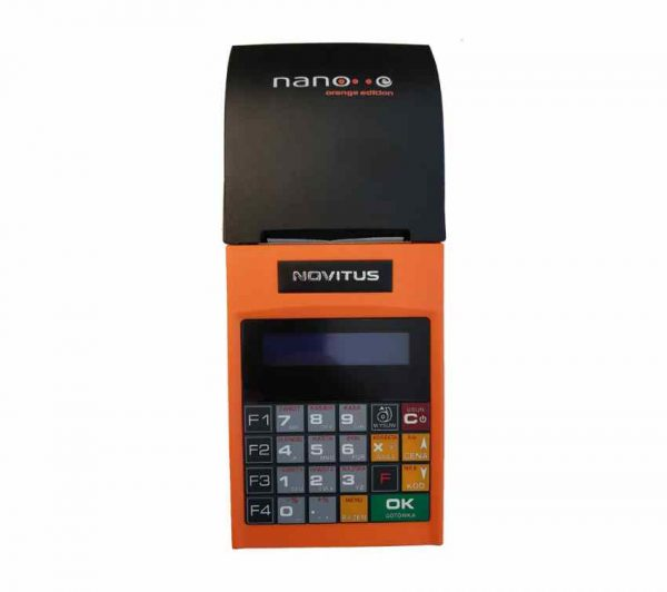 φορητή ταμειακή μηχανή on line novitus nano
