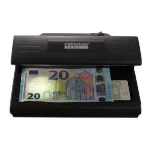 ανιχνευτής πλαστών χαρτονομισμάτων ratiotec soldi 185
