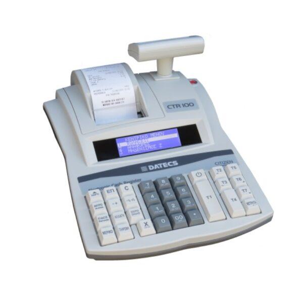 ταμειακή μηχανή γενικής χρήσης on line datecs ctr 100