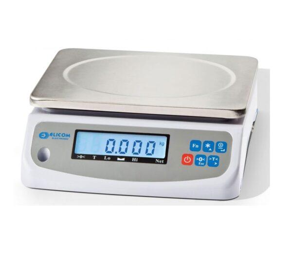 ζυγαριά εργαστηρίου elicom evl plus 15/30kg- 5/10g