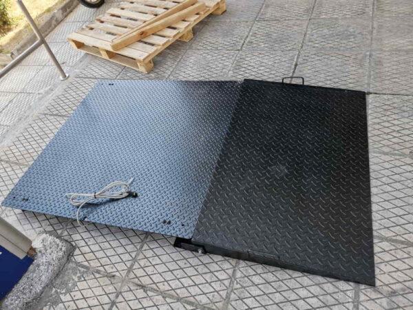 πλάστιγγα-ράμπα elicom platform Scales Series B Si10 – 600 κιλών